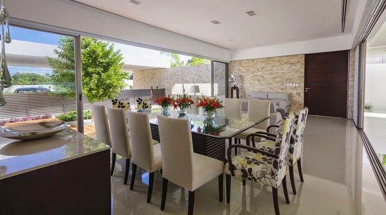 Moderna l neas puras minimalistas casa kopche grupo for Disenos de casas cocina comedor juntos