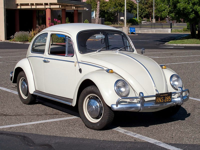 Classic VW Beetle Front Wheel Drum Brake Slave Cylinder Bug Karmann Ghia 1958-64