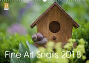 Fine Art Snail 2018 Kalender !!!