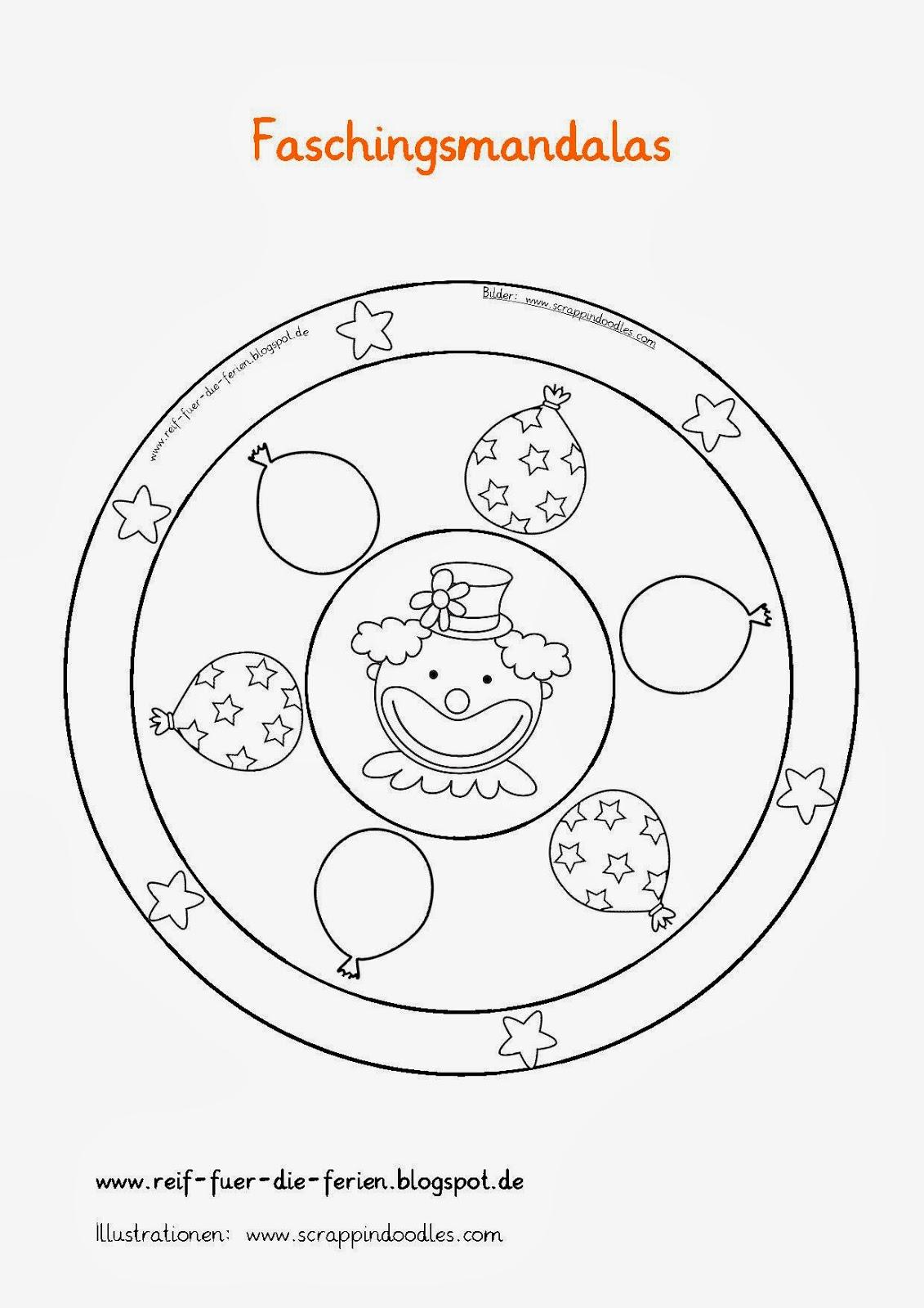 Faschings-Mandalas