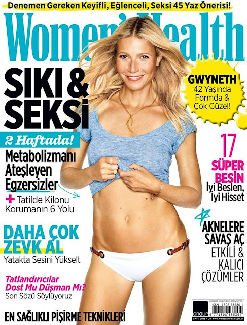 Actress, Singer @ Gwyneth Paltrow - Women's Health Turkey, August 2015