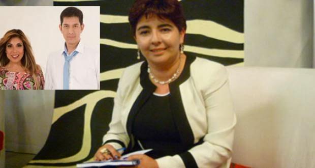 ... de Paola Belmonte, recibió a ERBOL en los estudiosde emisión de Zona