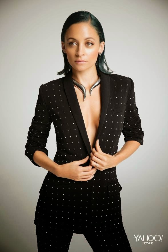NICOLE RICHIE NEWS: Nicole Richie for Yahoo Style