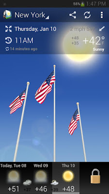 3D Weather Forecast PRO v1.2 APK