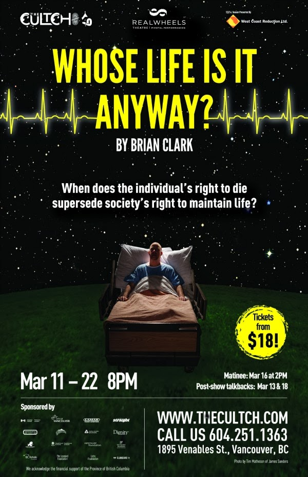 an analysis of brian clarkes play whos life is it anyway A straightforward summary of brian clark's whose life is it anyway to make clear who the characters are, what the play is about and what the major themes are.