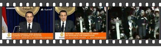 Mit Schuhsohlen gegen Mubarak