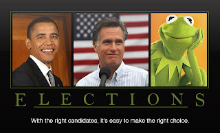 Vote for Kermit! Political parties don't know how to manage email marketing.