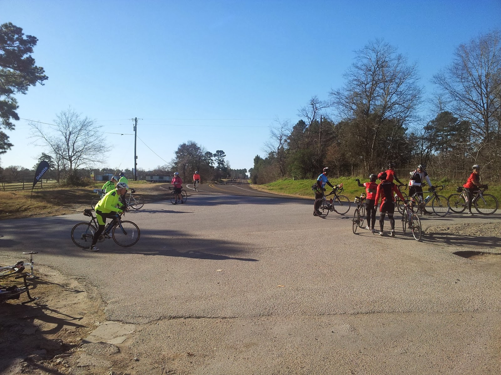Houston bike routes, Houston bike training, MS 150 training