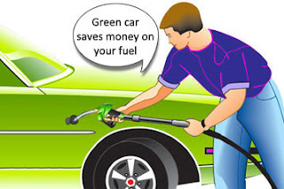 Green cars saves money on fuel