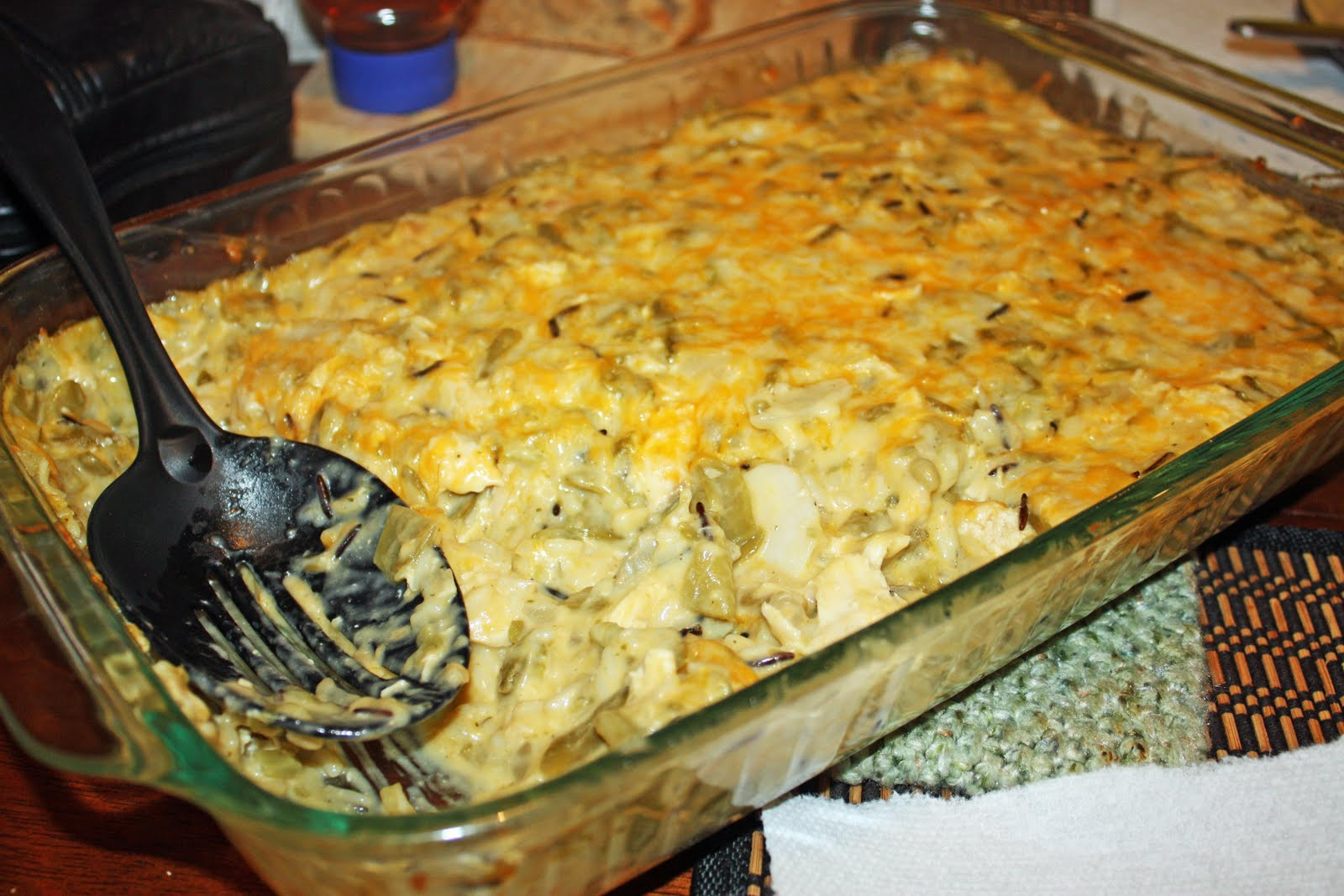Yumminess Just Became a Word: Chicken and Rice Casserole