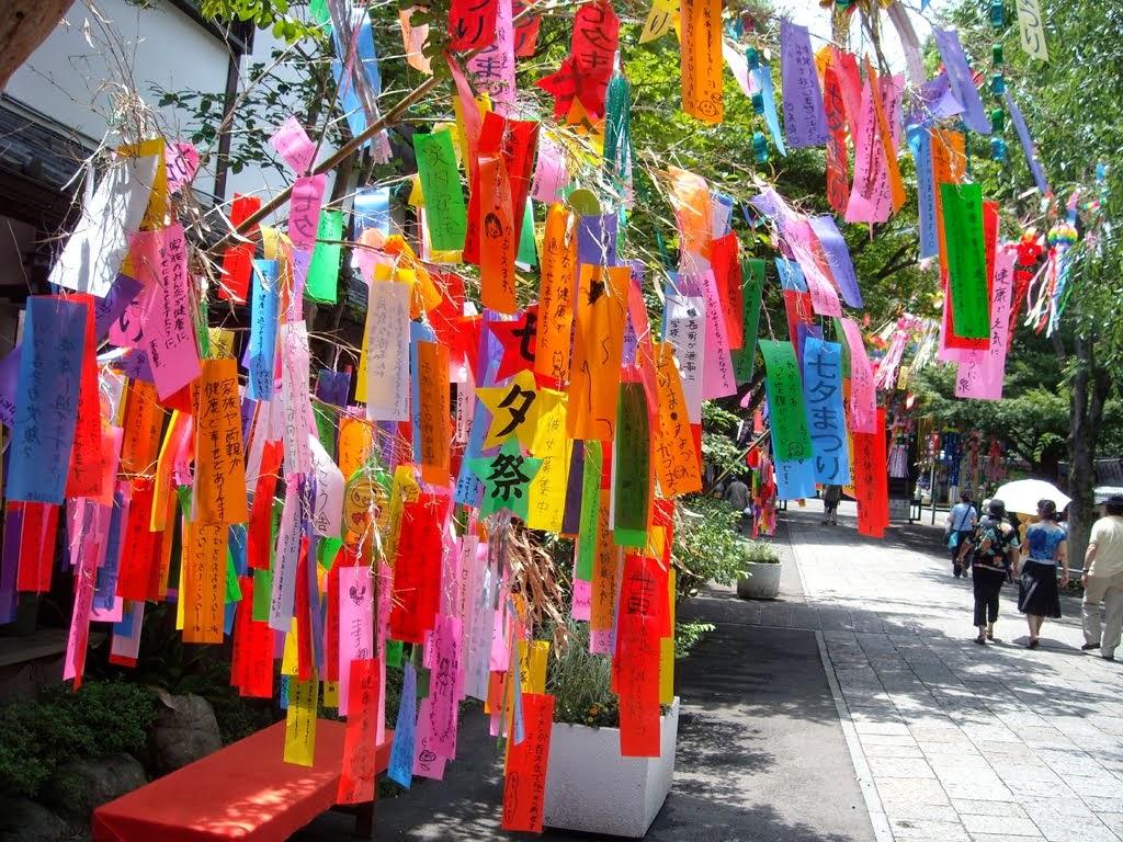 Powstałe z legendy japońskie święto Tanabata...
