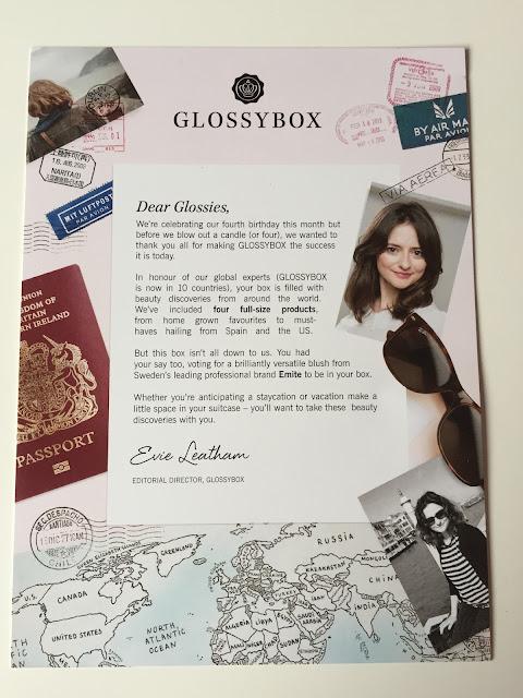glossybox august 2015