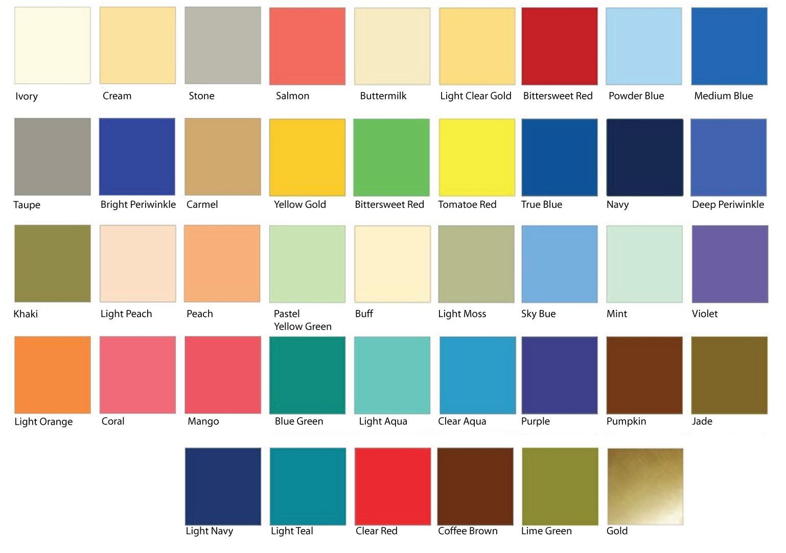 Toned Spring Color Palette