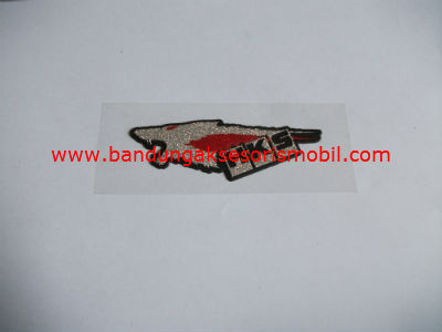 Emblem Metalic Small HKS Kepala Srigala
