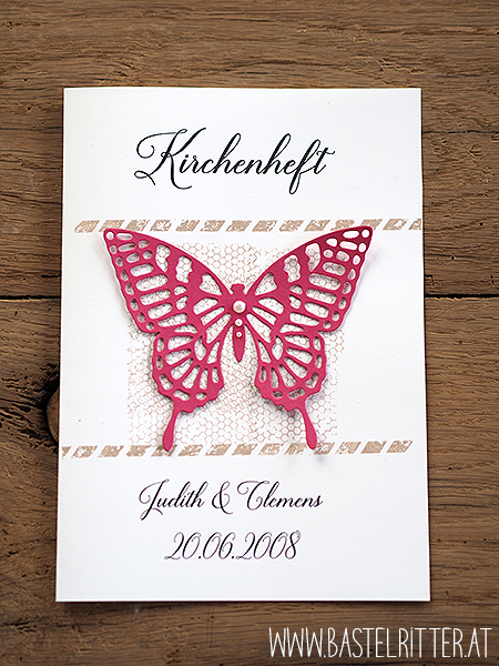 Stampin up Kirchenheft