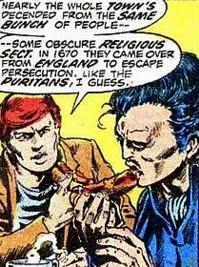 Marvel Premiere #4, Dr Strange has a hotdog
