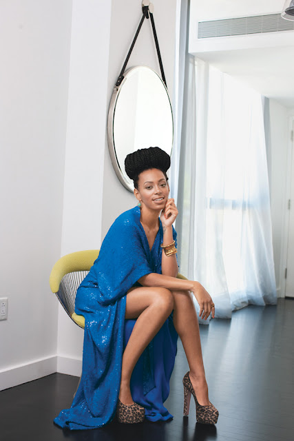 solange knowles bun box braids