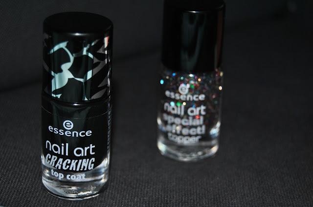 essence nail art cracking top coat