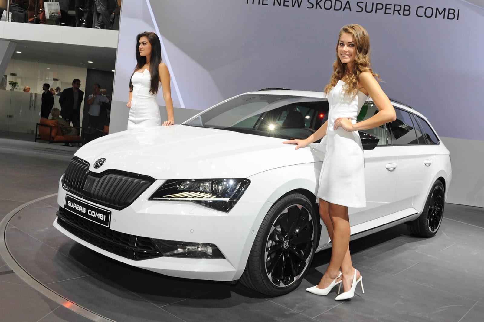 Iaa 2015 Koda Superb Combi Sportline Jetzt Wird S