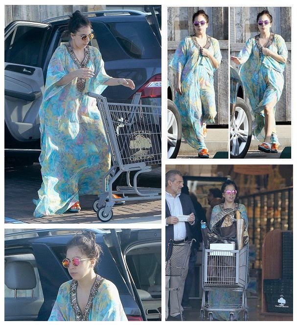 So, it's nice to see that Lady Gaga took the time out treat herself for shopping spree.  But please, Why? The great fashion must be going ended on those unconditionally moment as she was snapped on store at Malibu, CA, USA on Saturday, November 29, 2014.