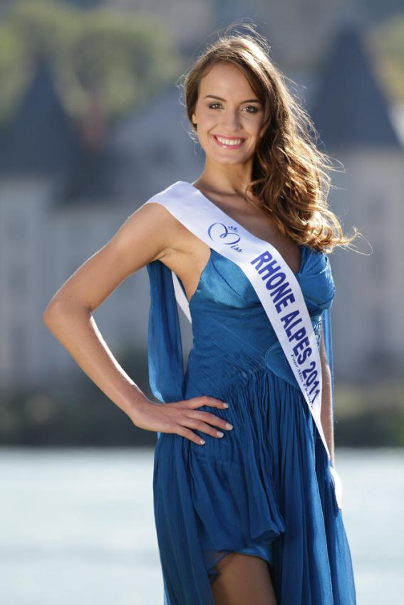 Miss Rhone Alpes-Cindy Saroul