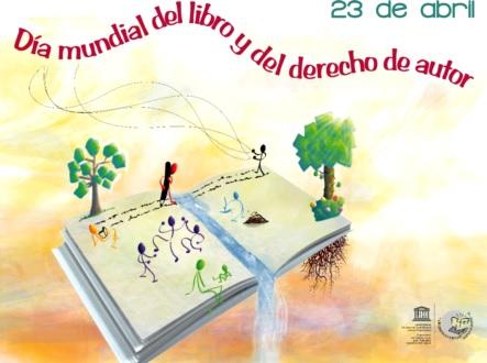 Dibujo por el Día Mundial del Libro y del Derecho de Autor