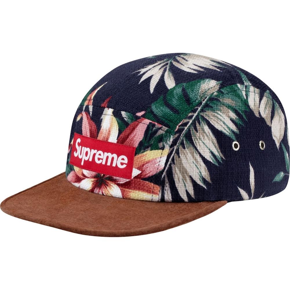 Supreme Cap Snapback Floral This Supreme Floral Cap in