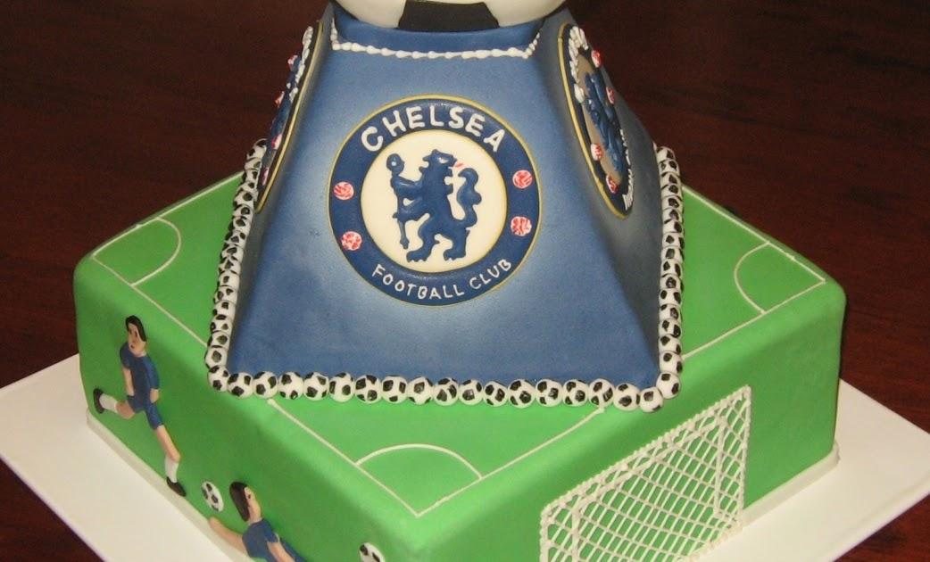 Let Them Eat Cake Chelsea Football Club Cake