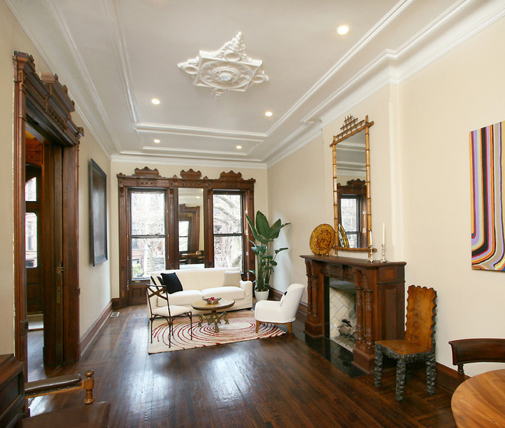 Victorian gothic interior style february 2013 Brooklyn brownstone interior