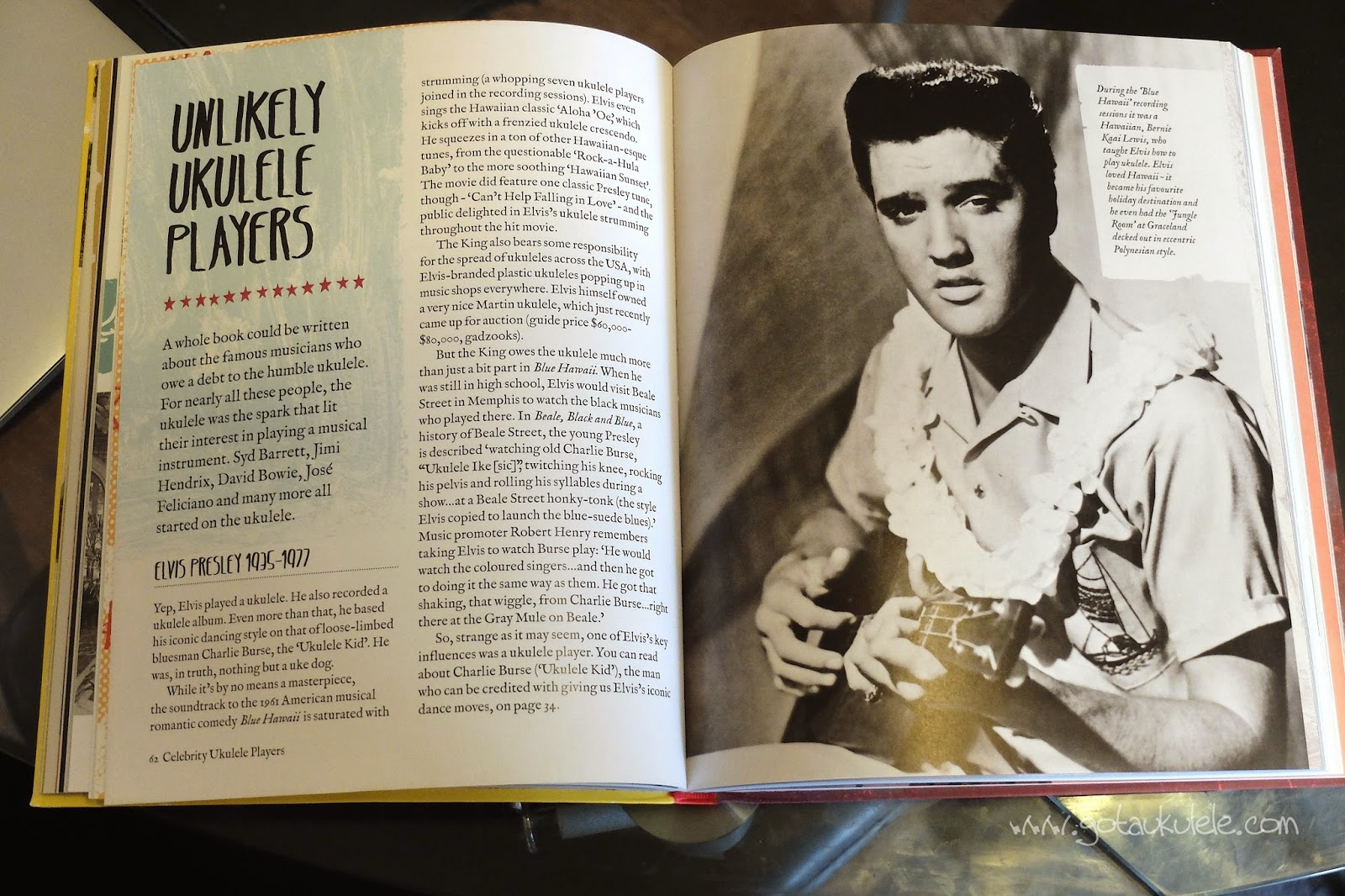 Get Plucky With The Ukulele Elvis