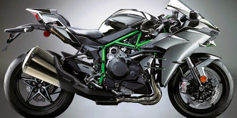 Kawasaki Ninja H2 immediately Haul in Indonesia