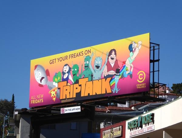 TripTank season 2 billboard