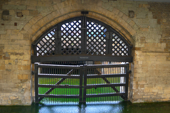 The Traitor's Gate in the Tower of London