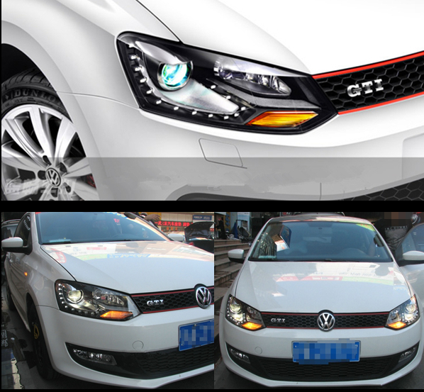 topmic top    china supplier   volkswagen polo led headlights