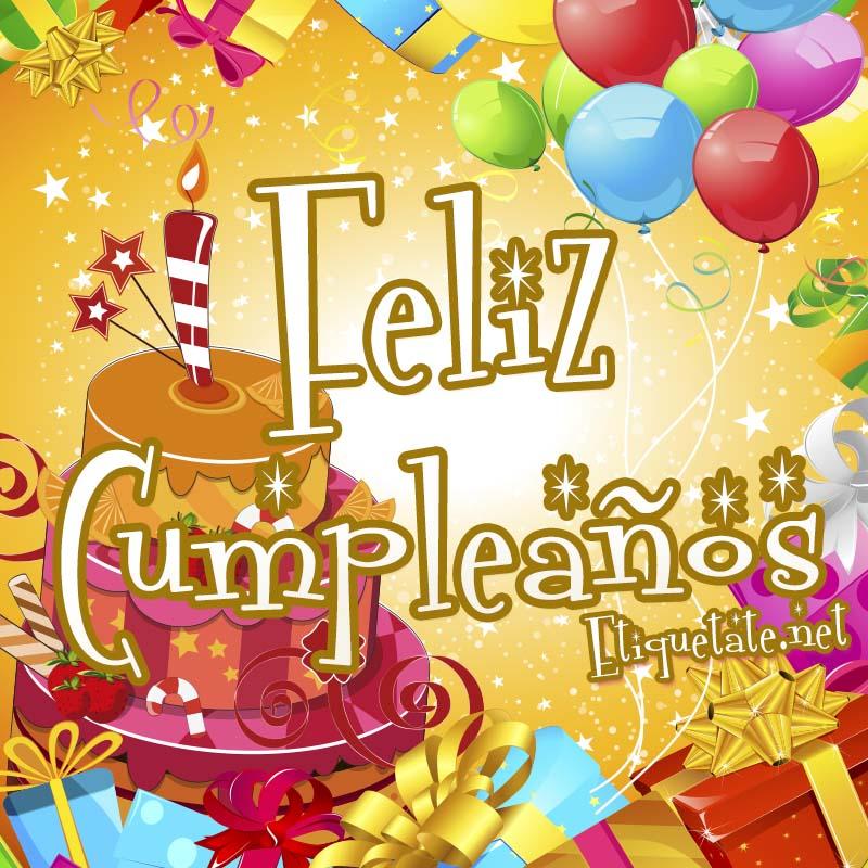 Imágenes de feliz cumpleaños para compartir en FaceBook - Imagui