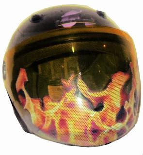 Motorcycle Helmet Visor Sticker