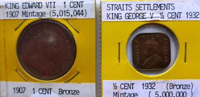 Straits Settlements 1/2 Cent 1932