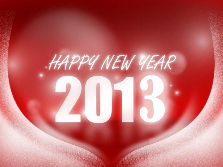 New Year 2013 Cards New Year 2013 eCards New Year 2013 Screensavers ...