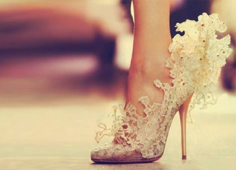 Bridal High Heels Shoes Design Idea.