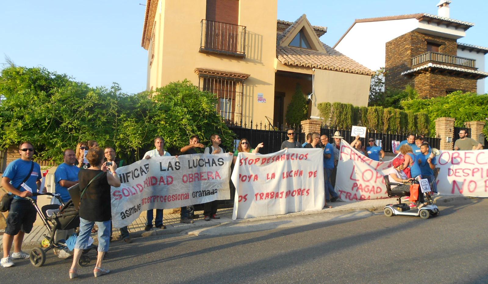 Granada; Crónica de la lucha de los trabajadores de Lobeca Imagen+144
