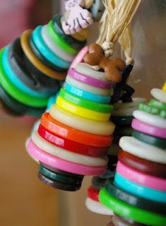 Reciclatex Cómo hacer adornos para el árbol de Navidad con botones