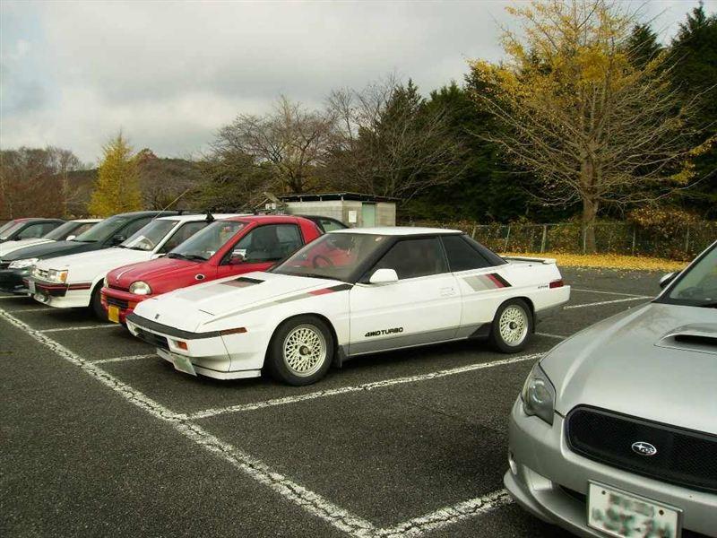 Subaru XT, turbodoładowany, 4WD, napęd na cztery koła, japoński klasyk, sportowy, coupe, motoryzacja, stare modele, 日本車, ヒストリックカーは