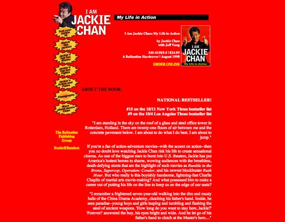Eu Sou Jackie Chan - 580x452