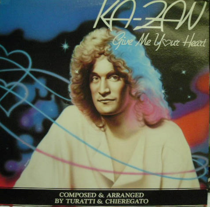Ka-Zan - Give Me Your Heart (Vinyl,12'') (1986)
