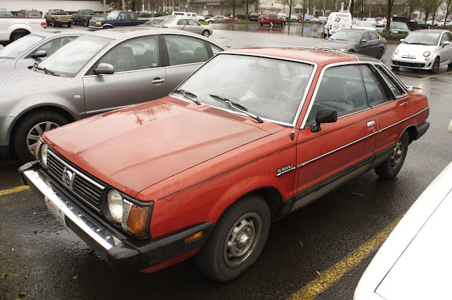 1980 Subaru 1600 DL-5 coupe.