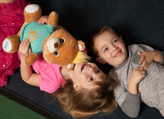 kids with my friend teddy