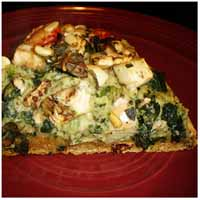 Weight Loss Recipes : White Bean and Sun-Dried Tomato Pizza