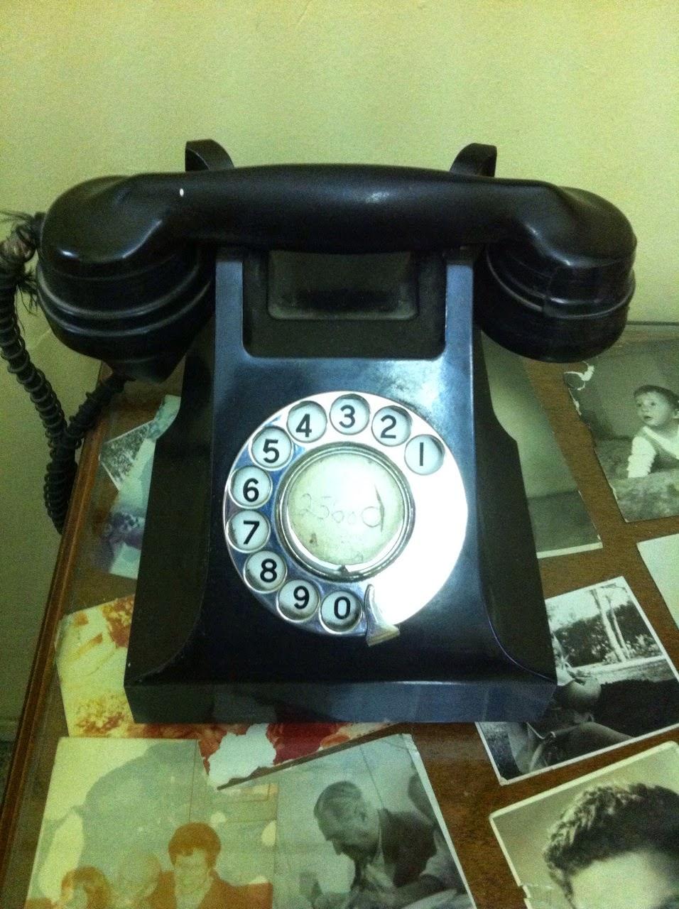 טלפון, בית דוד בן גוריון, קיבוץ
