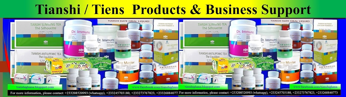 TianShi / Tiens Products & Business Support