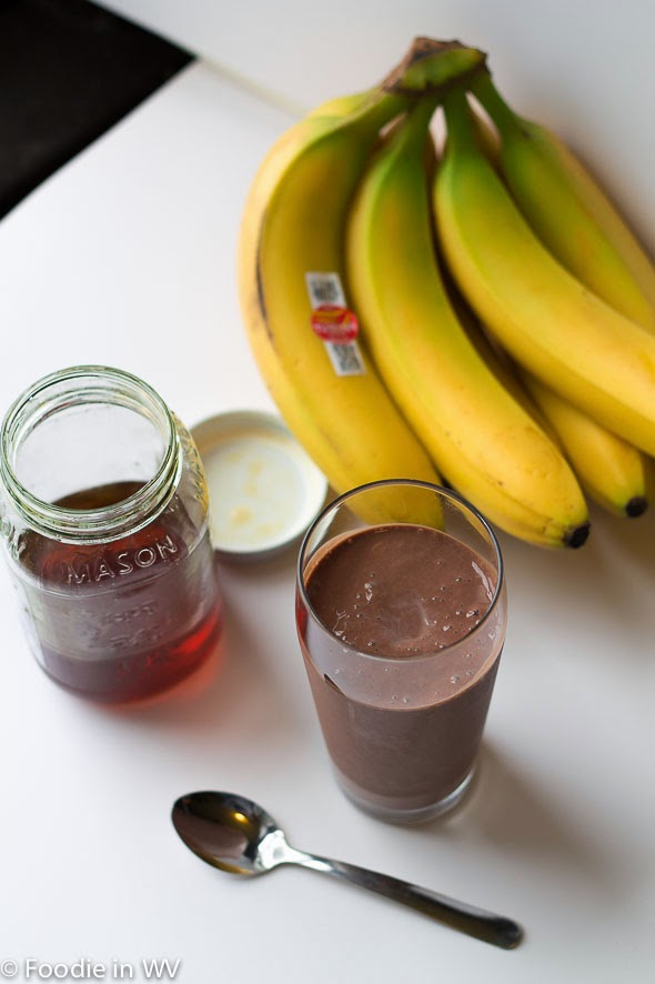 Chocolate, Banana and Tofu Smoothie